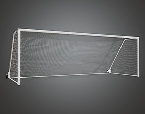 Soccer Goal 01a - SAG - PBR Game Ready 3D model