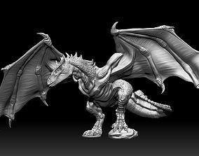 Wyvern Dragon 3D print model