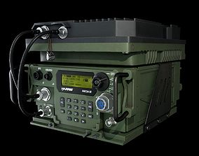 3D asset Wideband Military Radio