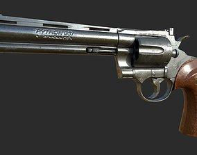 Colt Phyton Magnum 357 - PBR Game ready prop 3D asset