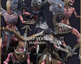 Dead Army Light Vershion 3D asset
