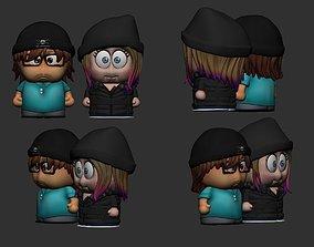 cute toy couple 3d print