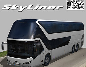 Neoplan Skyliner bus 3D model