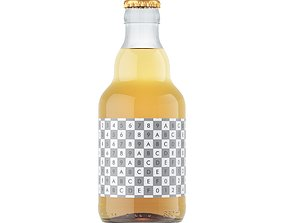 alcoholic-drink 3D model BEER bottle