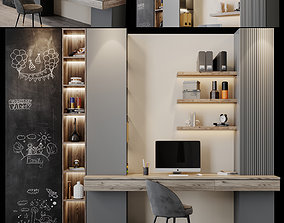 3D model workplace 17