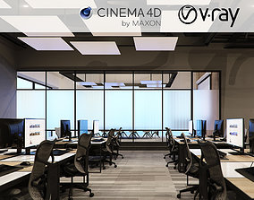 meeting Vray - C4D files - Office Space 2 3D