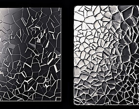 3D Cracked Glass
