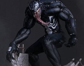 Venom For 3D Print statue
