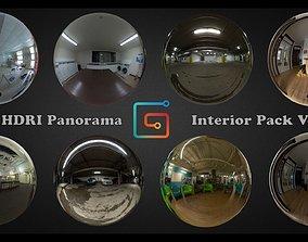 HDRI 360 panorama Interior pack Vol 01 3D model