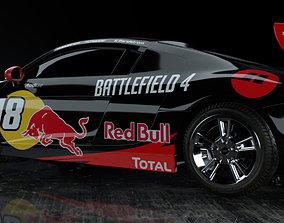 3D model Audi R8 NASCAR