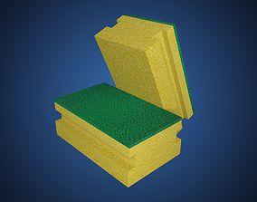 Kitchen Sponge 3D asset