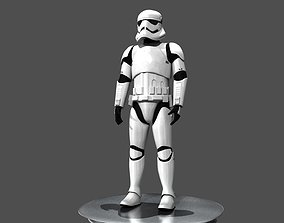 Storm Trooper Rigged and Animated 3D