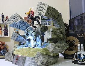 DIORAMA FULLMETAL EDWARD AND APHONSE 3D print model