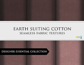 Earth Fabrics Seamless Textures Set 3D model