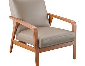 Barcelona Design Angel Cerda Armchair Marten A1069 3D