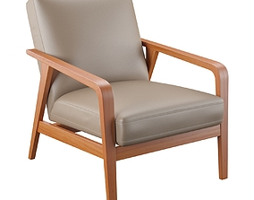 Barcelona Design Angel Cerda Armchair Marten A1069 3D