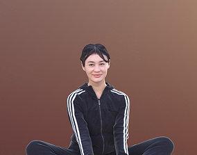 Francine 10350 - Sitting Sport Woman 3D asset