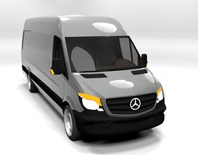 MERCEDES SPRINTER XL 2014 LOWPOLY 3D model