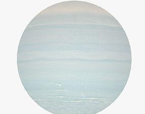 Lowpoly Uranus 3D model