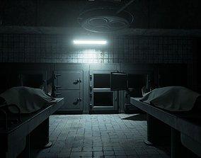 Morgue 3D asset