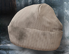 Winter Hat Used 3D asset
