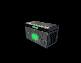 Chest 3D asset game-ready