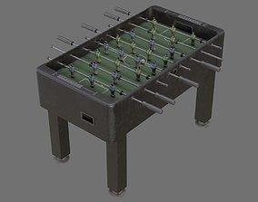 Foosball 1B 3D asset