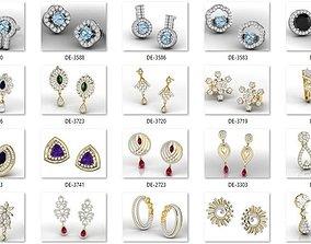 Bulk Earrings-0009-3dm with stones-713 Files