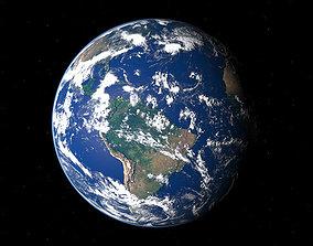 3D animated Earth