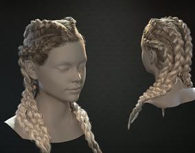 Realtime Braids 3D model