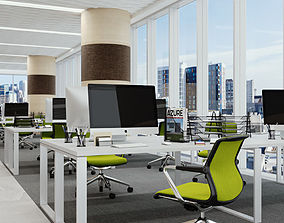 3D model Office California