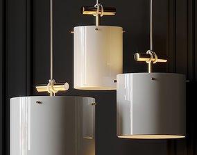 Castor Fresnel Pendant Lamp by 2Modern 3D