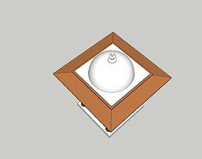 3D asset indian stone chatri