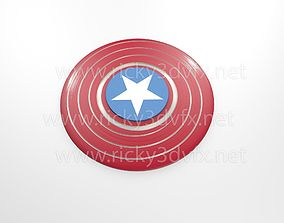 3D print model Captain America Spinner