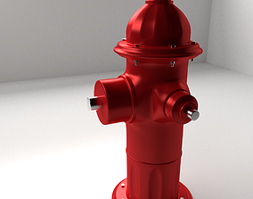 3D model Fire Hydrant fireplugs