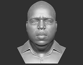 The Notorious BIG bust 3D printing ready stl obj
