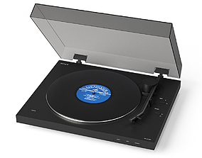 SONY Turntable PS-LX310BT 3D