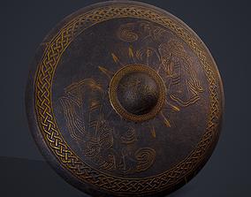 3D asset Viking Sun Shield