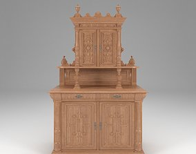 3D Empire Style Cabinet
