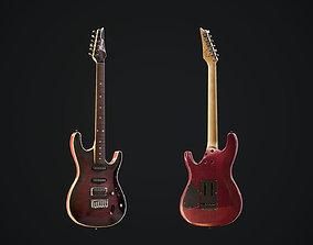 3D model Ibanez sa240fm electric guitar