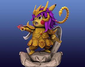 Pikachu Knight of the Zodiac Milo 3D printable model