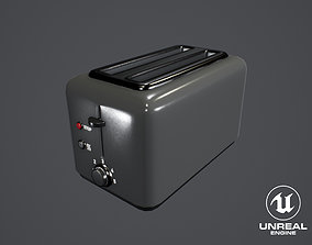 3D asset Furniture And Appliances - Toaster