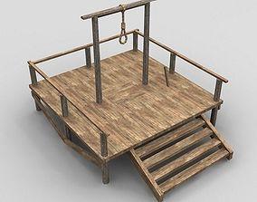 3D model gallows