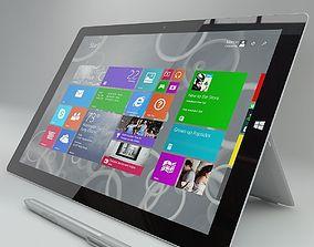 3D Microsoft surface pro 3