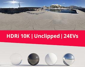 HDRi - Port Landscape and Sun 3D