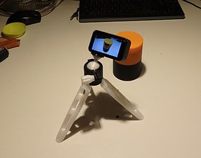 3D printable model Camera tripod with ball joint and 2