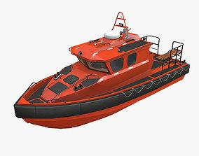 Rescue Motor Boat 3D model