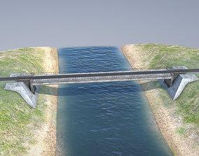 3D model RW Bridge Vologda-II mono