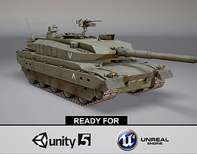 3D asset Type 10 Main Battle Tank