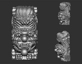 3D print model lion 002